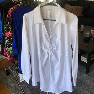 White NY Collection Blouse